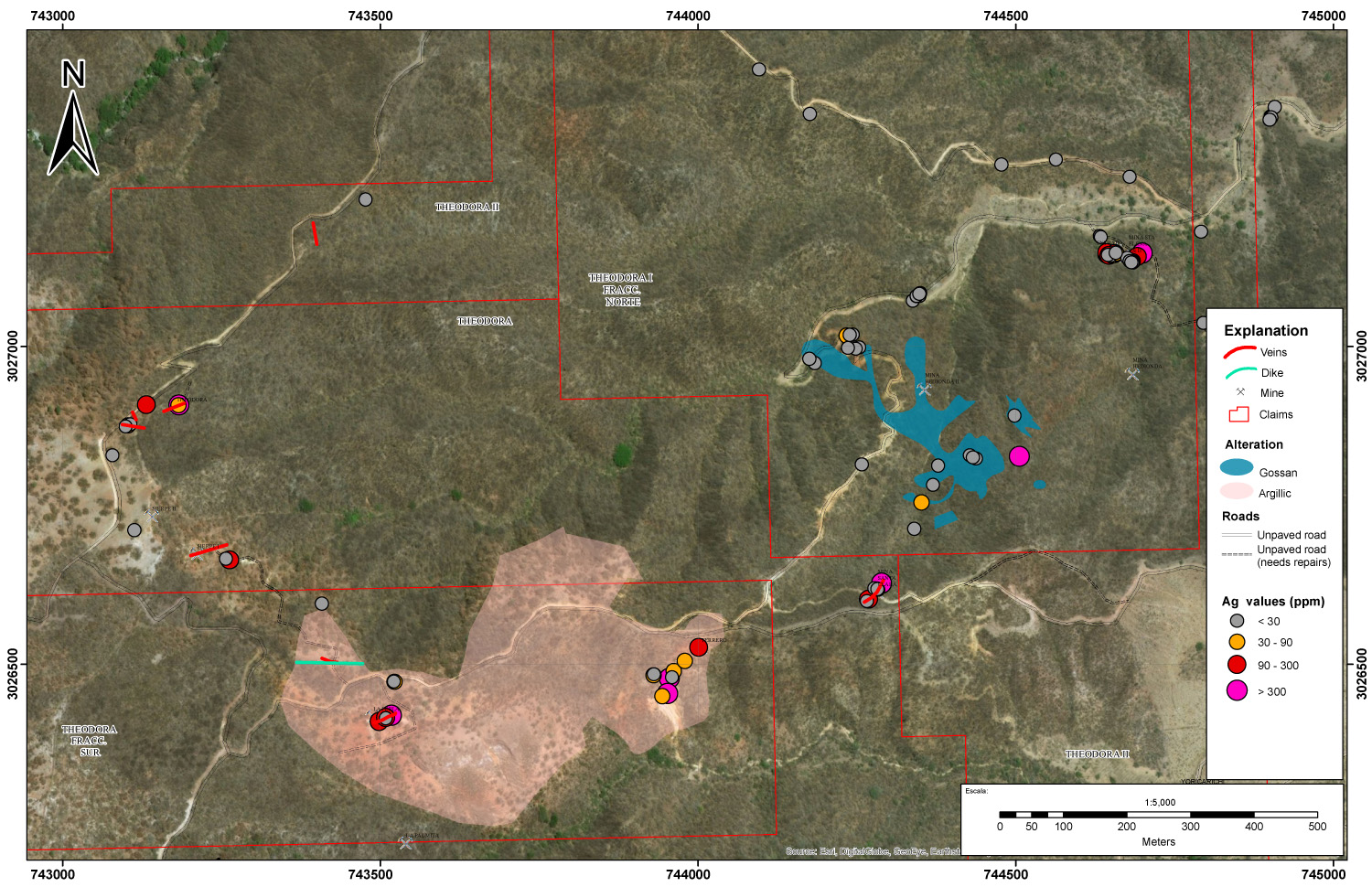 292840cf55e8e8 Silver Spruce Resources Fieldwork Continues to Expand Drill Target ...